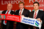 Reds unveil new shirt sponsor at Anfield press conference