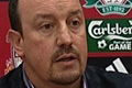 Rafa Benitez on Pompey clash
