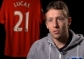 Lucas on Riise, Berbatov and Anfield