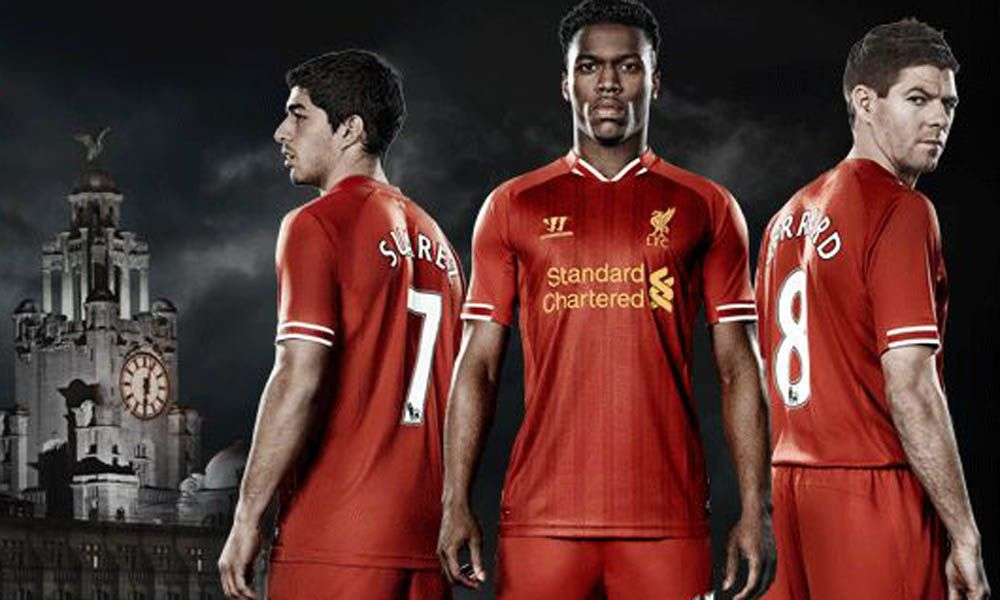 Revealed: The kit the Reds will wear on tour