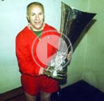 Bill Shankly guided Liverpool to a UEFA Cup final win over Borussia Monchengladbach.