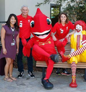 Foundation visit Ronald McDonald House Fun Day