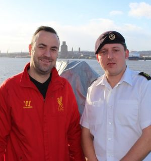 Foundation meet with HMS Portland