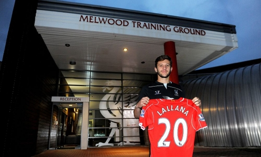 Get your Adam Lallana jersey now