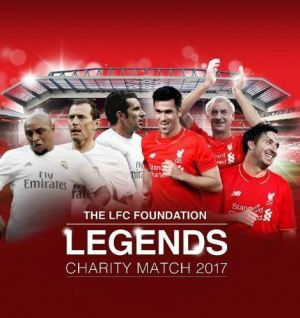 Reds legends to face Real Madrid at Anfield