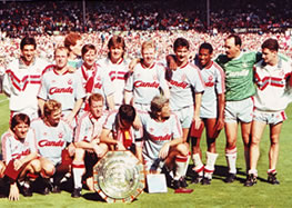 Reds beat Arsenal to win Charity Shield