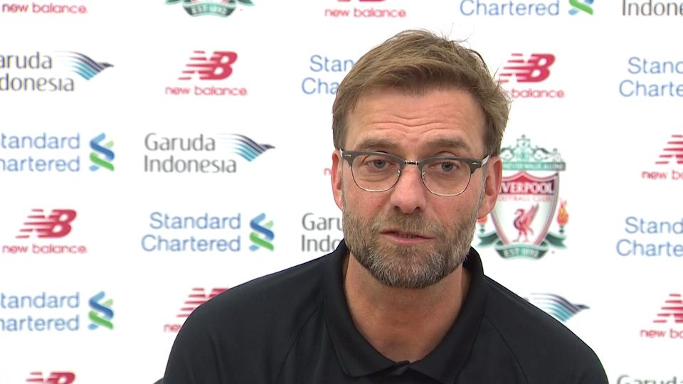 Klopp on Sunderland and the condition of his squad