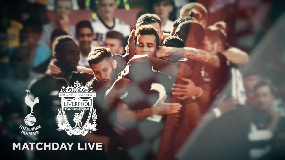 Matchday Live 11.30am BST: Tottenham v LFC