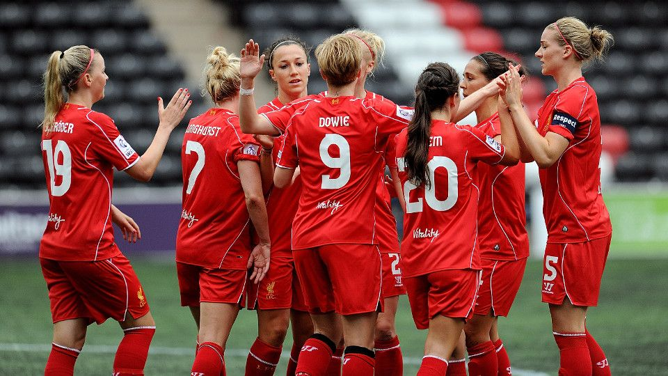 The LFC Ladies show