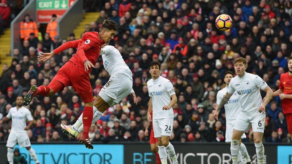 LFC v Swansea City: Highlights