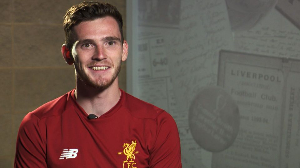 Andy Robertson: The First Interview