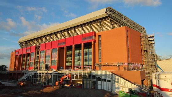 VIDEO: Perkembangan terbaru pembangunan Main Stand Anfield