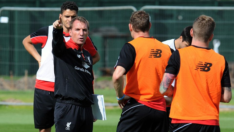 Brendan's pre-West Ham press call