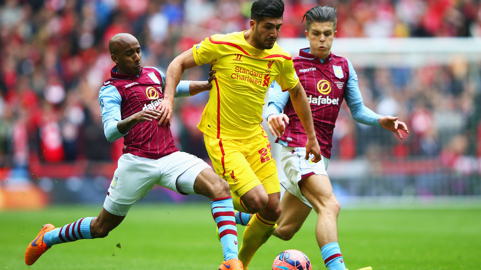 Aston Villa v Liverpool: Highlights