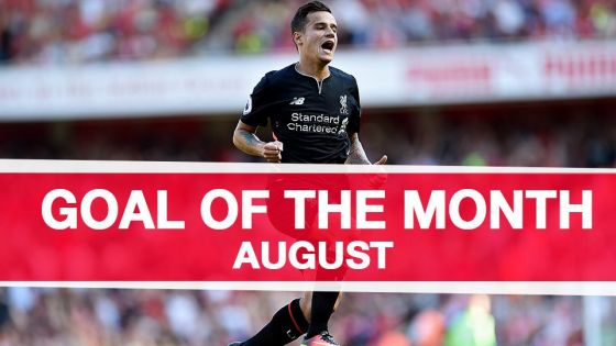 Goal of the Month - August 2016