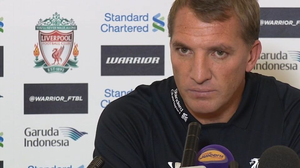 Rodgers' pre-Burnley press call