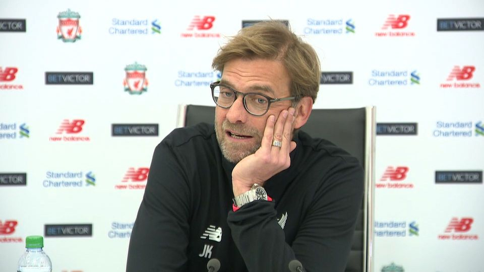 Jurgen Klopp's pre-Leicester press conference in full