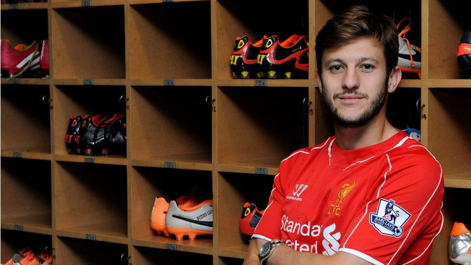 Lallana 'humbled' by Reds move