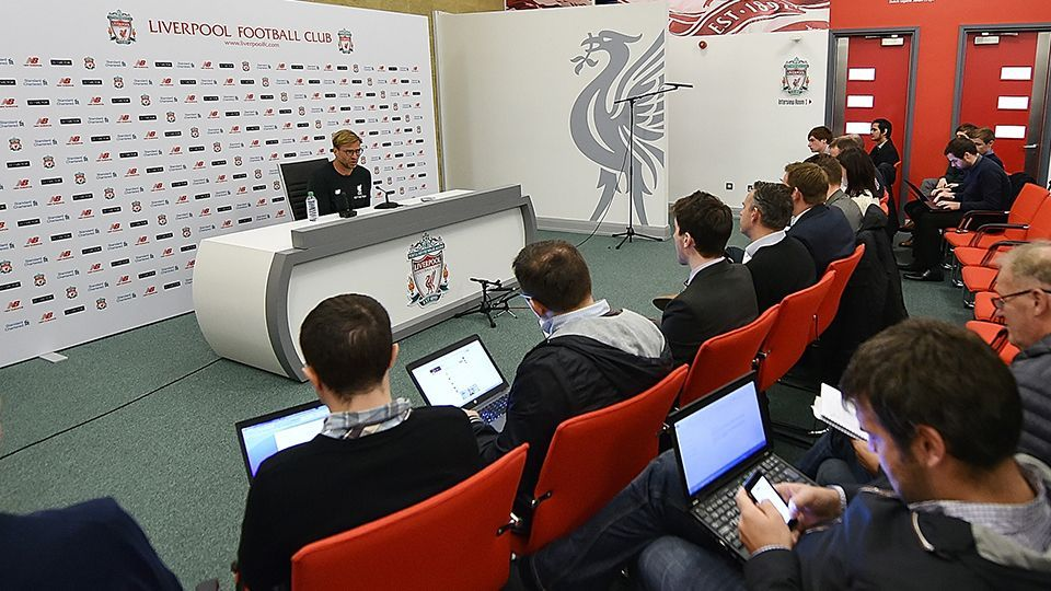 LIVE 1pm GMT: Klopp's pre-West Ham press conference
