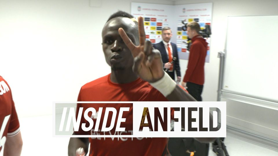 Inside Anfield: Unseen footage from the tunnel and beyond