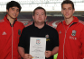 Duo reward Prince's Trust youngsters