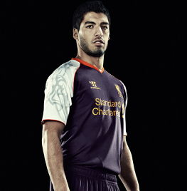 luis suarez, new third kit