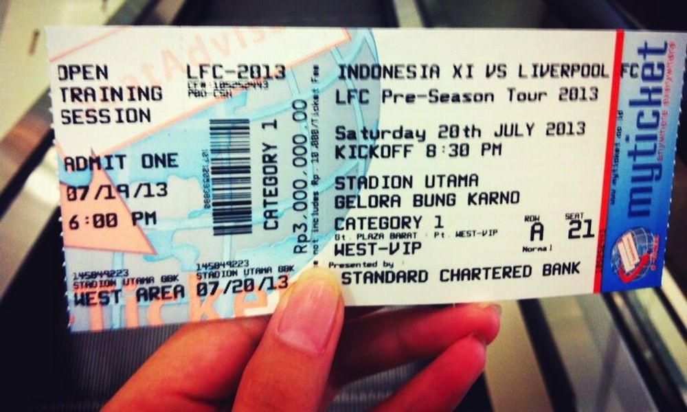 Buy your tickets for LFC match in Indonesia today