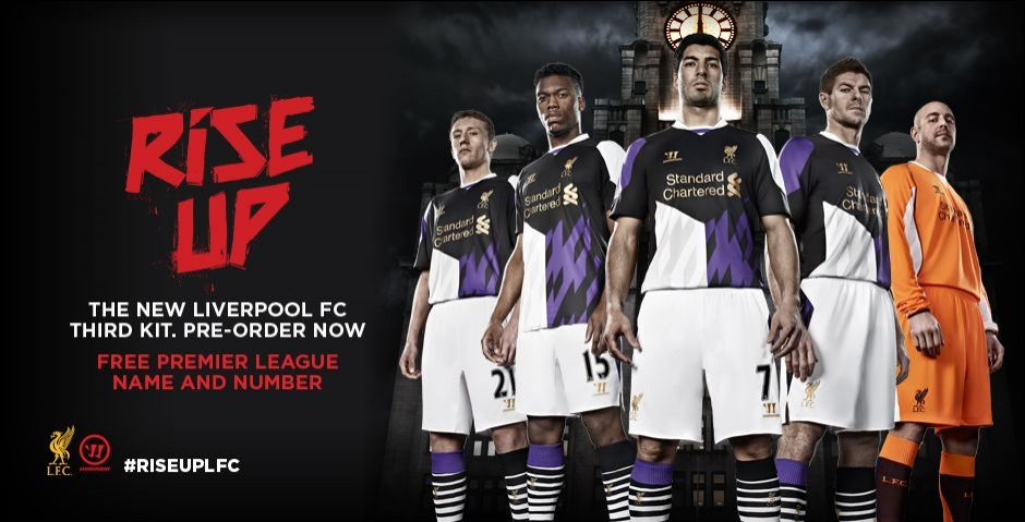 1ce020c15 ... the 2012 13 third kit included purple highlights