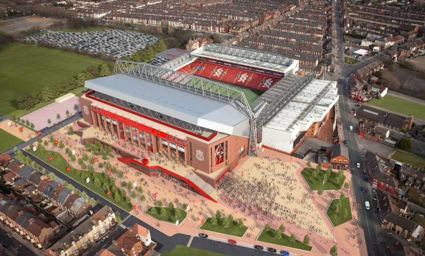 Anfield Stadium Expansion Update Liverpool Fc