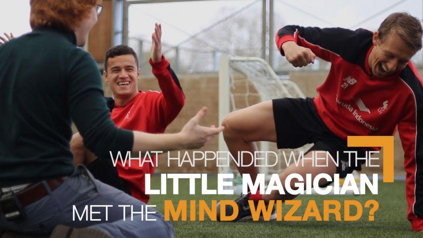Ketika penyihir kecil bertemu Penyihir Pikiran Liverpool