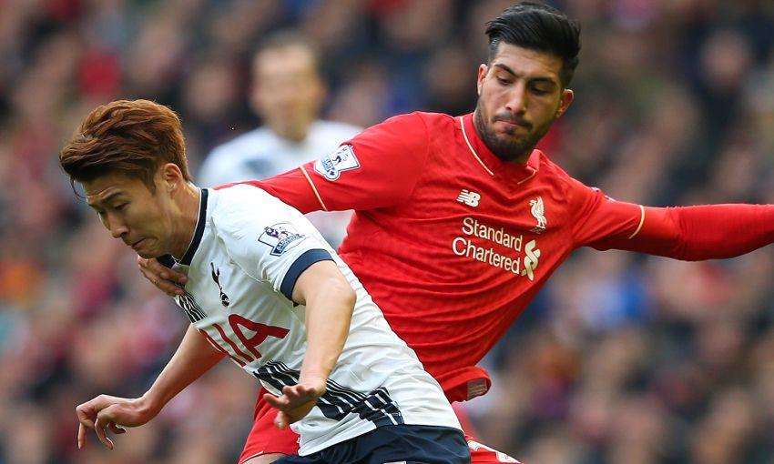 Reds dan Spurs berbagi poin di Anfield