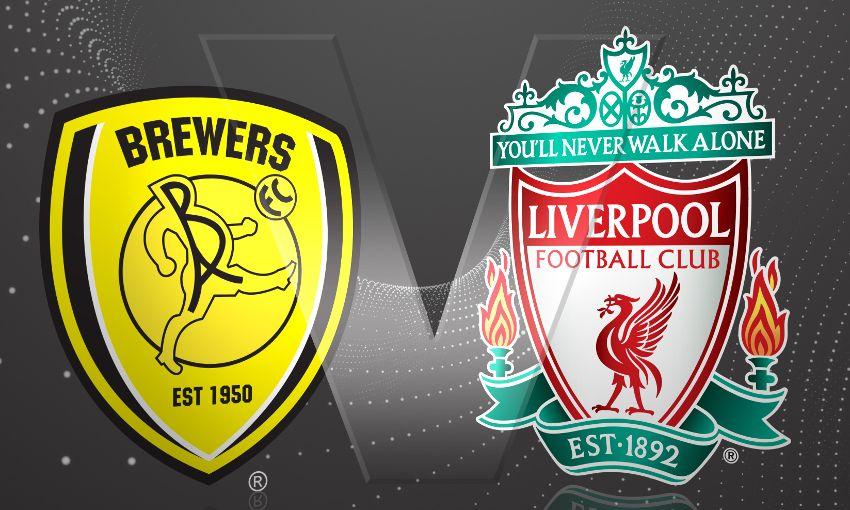 Burton Albion vs Liverpool