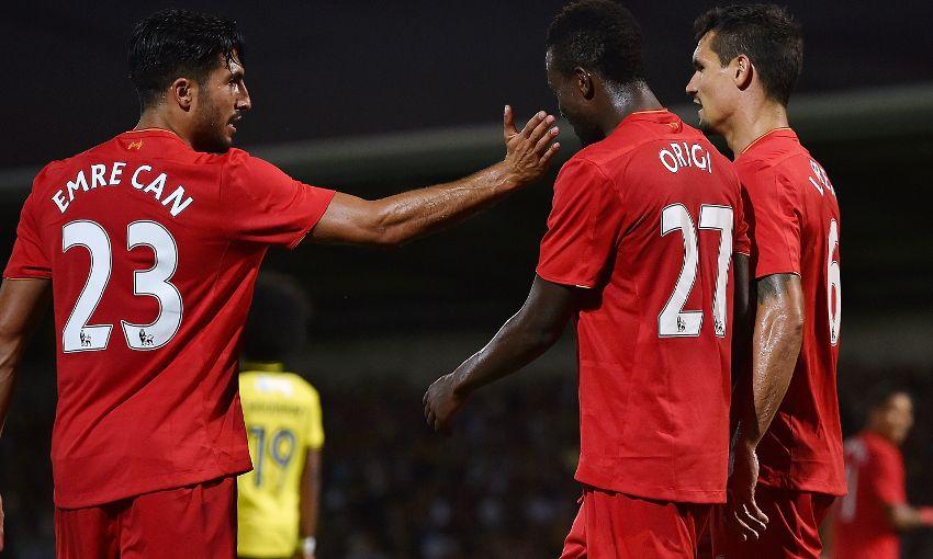 Emre Can e Divock Origi são dúvidas para enfrentar o Tottenham