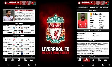 Liverpool FC Match and News Centre