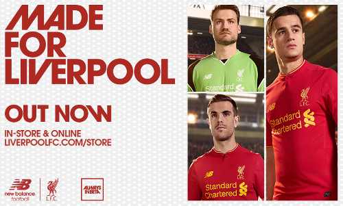1e6b66437ec Revealed  Liverpool FC s brand new home kit for 2016-17 - Liverpool FC